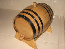 OAK BARRELS 5 LITER FOR WHISKEY OR SPIRITS