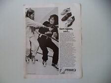 advertising Pubblicità 1980 SCARPE PRIMIGI