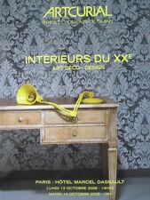 Catalogue de vente Artcurial DESIGN ART DECO Collection de mobilier Jansen