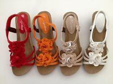Women sandal wedge shoe ladie's designer auyi bridal wedding resort