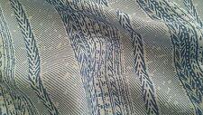 Rayon Challis Bamboo stripes with Denim Light printed,54