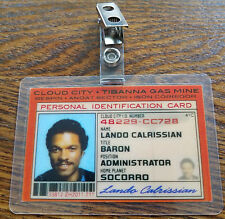 Star Wars Id Badge - Bespin Cloud City Lando Calrissian prop cosplay costume