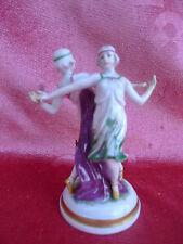 schöne, alte Porzellanfigur__Tanzpaar__Art Deco__ENS__!