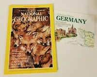 National Geographic Vol. 180 No. 3 September 1991 - w/Travelers Map of Germany