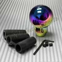 NEO-Chrome Aluminum Ball Manual MT Gear Stick Shifter Shift Knob Universal 3