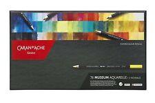 Caran D'Ache Color Pencil Set - Museum Aquarelle Watersoluble Colored Pencil Set