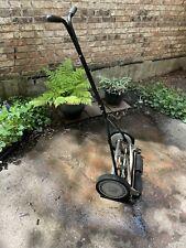 New listing Green States 16-Inch 5-Blade Push Reel Lawn Mower Manual Push