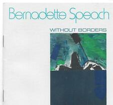 BERNADETTE SPEACH Without Borders 1988 CD THULANI DAVIS MYRA MELFORD OLIVER LAKE