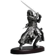 "NECA Lord of The Rings LOTR Aragorn24"" Fine Pewter Amalgama Statue Figure Rare"
