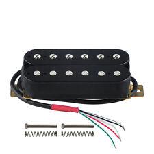 1PCS Black Electric Guitar Humbucker Pickup Double Coil Neck 50mm Ceramic Magnet