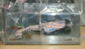 Panini Formula 1 F1 Collection Partwork #123 Scale Model Force India VJM10 Perez