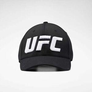 Reebok EI0805 Men hat UFC logo Baseball cap black