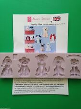 Karen Davies Dogs Sugarcraft Mould pug spaniel poodle shih tzu NEXT DAY DESPATCH