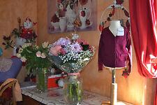 veste cardigan repetto neuve violet don juan 8 ans superbe couleurs
