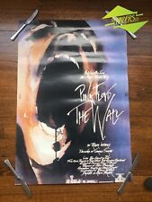 """VINTAGE 1982 PINK FLOYD """"THE WALL"""" MOVIE PROMOTIONAL POSTER MUSIC ALBUM CD"""