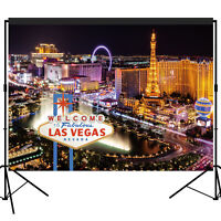 Las Vegas Casino Night Party Backdrop Scene Setters Photo Booth Props 7x5feet