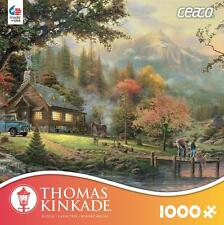 CEACO THOMAS KINKADE JIGSAW PUZZLE PEACEFUL MOMENTS 1000 PCS #3310-50