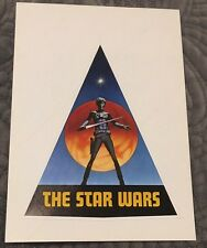 The Star Wars Vintage 1976 Ralph Mcquarrie SDCC Comic Con Sticker Pre-Production