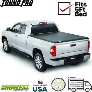 Tonno Pro Soft Tri Fold Tonneau Cover For 2006-2014 Honda Ridgeline 5' Bed