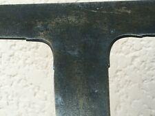 n°4) old tool /  OUTIL ANCIEN D'ARDOISIER / ENCLUME DÉCORÉE  XIXe