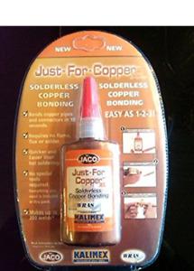 5 x Just For Copper 50g - Solderless Copper Bonding ! (UK Stock Location)