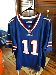 Buffalo Bills Zay JonesNIKE NFL Jersey--Number 11-size Large