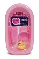 Melissa and Doug Mine to Love Doll Bathtub Bath Tub Set #4893 BRAND NEW