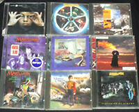 Marillion CD lot album Fugazi, Seasons End, Script for a jesters tear Set box