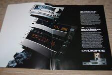JVC 1989 HI-FI AXZ1010TN TDV1010TN TDV621BK ALF353BK Original Catalogue