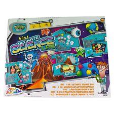 Experimentierkasten Elektronik Chemie Kinder Lernspielzeug Experimentier 4 in 1