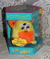 FURBY BABY-Yellow and Orange W/ BLUE EYES - Unopened MINT Tiger Elec. 1999