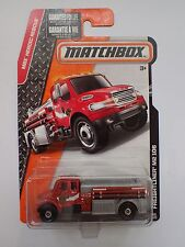 MATCHBOX 1:64 FREIGHTLINER M2 106 FIRE TRUCK ( NEW ) SHIPPING WITH TRACKING
