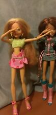 RARE collectable retired Winx club doll flora fully wired any pose for repaint ?