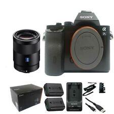 Sony A7S 42MP Full-Frame DSLR + Sonnar T* FE 55mm f/1.8 ZA Lens