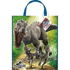 """Jurassic World Loot Favors Large Party Tote Bag 13"""" x 11"""""""