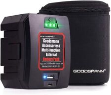 GOODSMANN Power Pack Rechargeable Portable Battery Bank for Any 12V Spotlights
