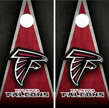 Atlanta Falcons Cornhole Wrap Skin Board NFL Sports Vinyl Decal GC76