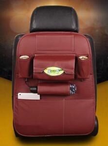 Car Seat Storage Bag Hanging Dirt Resistant Back Child Safety Multifunction Box