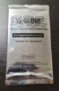 Yu-Gi-Oh! Obelisk The Tormentor *SEALED* Movie Booster Promo Pack MVPC-EN001