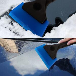 "5"" Durable Rubber Squeegee Glass Clean Window Tint Car Wrap Scraper Handy - BLUE"