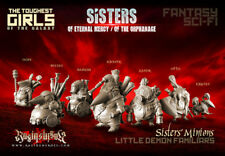 Raging Heroes - Sisters of Eternal Mercy Minions - New