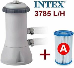 Intex 1000 GPH 220 - 240 V Swimming pool Cartridge Filter Pump