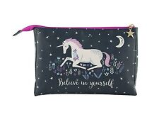 Sass & Belle Starlight Unicornio Bolsa De Lavado Neceser Maquillaje cosmético Case Regalo
