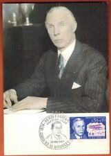 1971 - FDC CARTE 1°JOUR - OBL.LE BOURGET - H.FARMAN - TIMBRE - Yt.1670