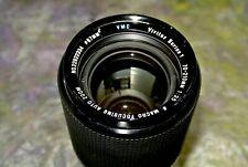 VIVITAR SERIES 1 70-210mm 3.5 VMC Macro Focus Zoom Lens for MINOLTA MD MC SLR