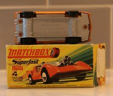 Matchbox Lesney Superfast #4 Gruesome Twosome SILVER PAINTED BASE