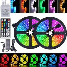 5050 SMD RGB LED Strip Lights Waterproof 5m-30m 12V 44key IR Controller Adapter