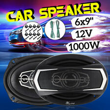 2PCS 12V 6X9Inch 1000 Watt 4-Way Car Audio Speaker SubWoofer Coaxial Stereo  !