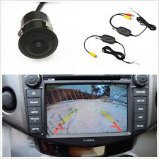 Car 170°Wide Angle Camera Cam 18.5mm Drill+2.4GHz Wireless Receiver Transmitter