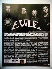 COUPURE DE PRESSE-CLIPPING :  EVILE  03/2010 Interview,Infected Nations